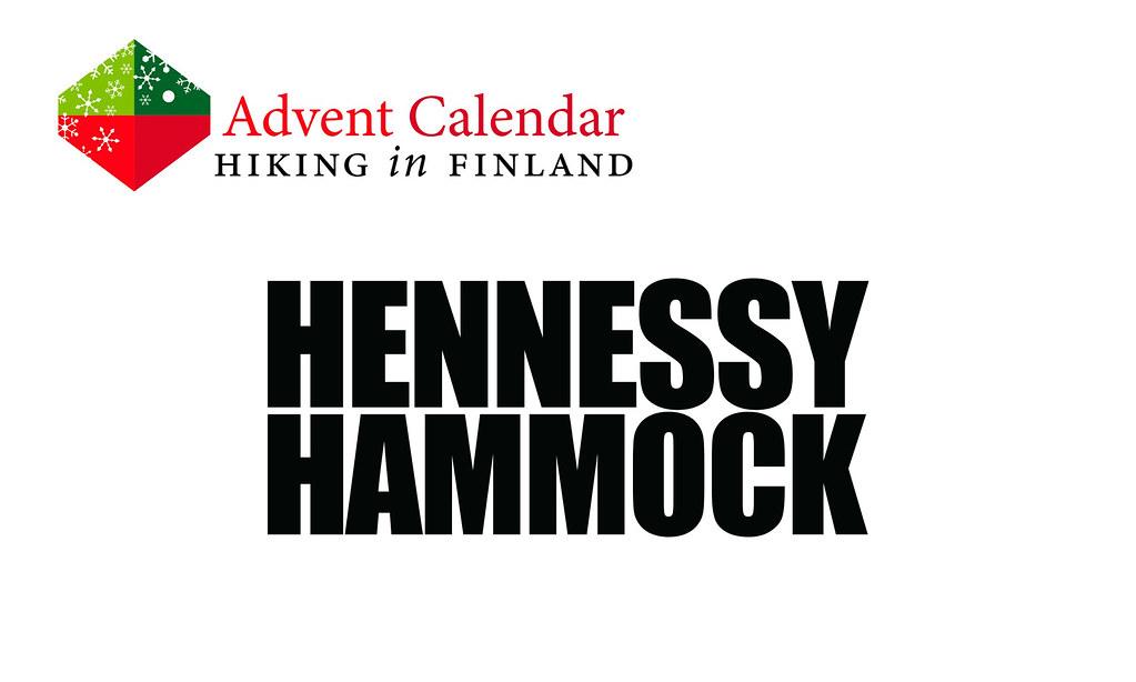 HiFAdventCalendar Hennessy Hammock