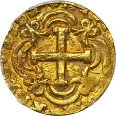 COLOMBIA. 1753-S 4 Escudos reverse