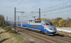 TGV RD 608 - Photo of Chaveyriat