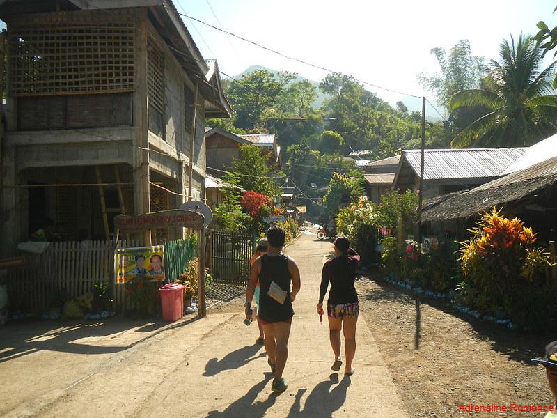 Going to Bugtong Bato Falls
