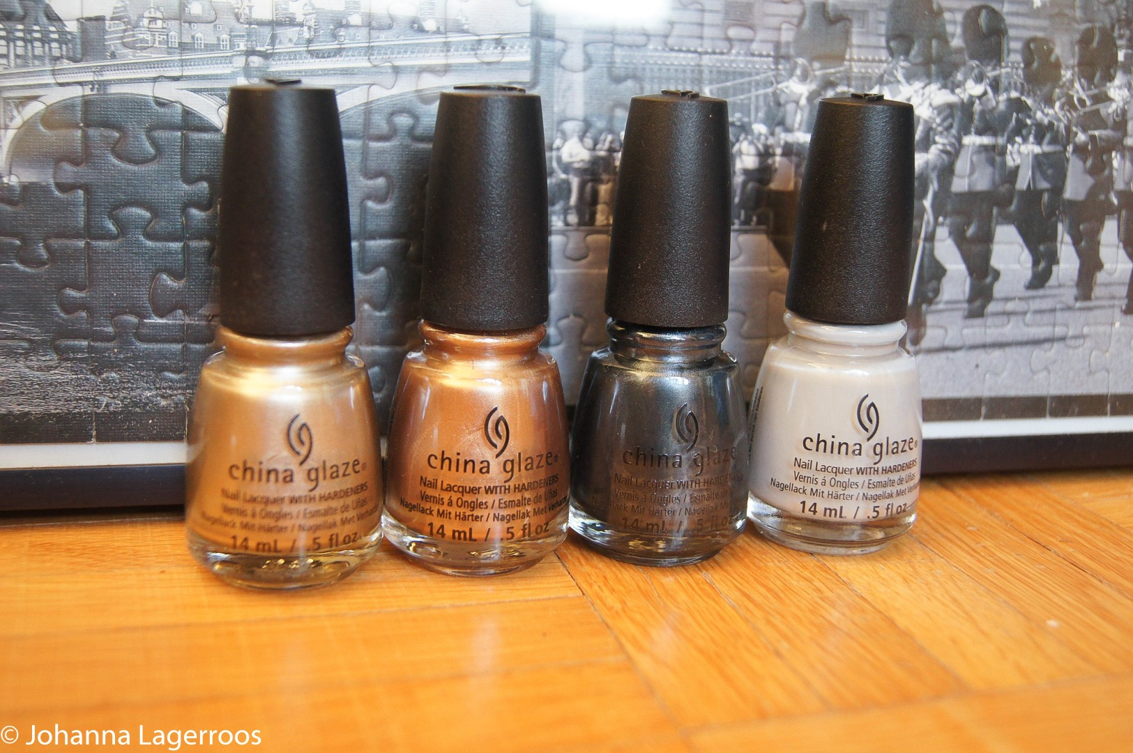 China glaze golds