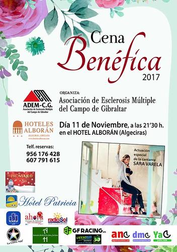 CARTEL CENA BENEFICA 11-11-20171