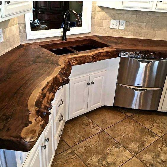 Top 10 Cool Decorating Ideas with Live Edge Wood