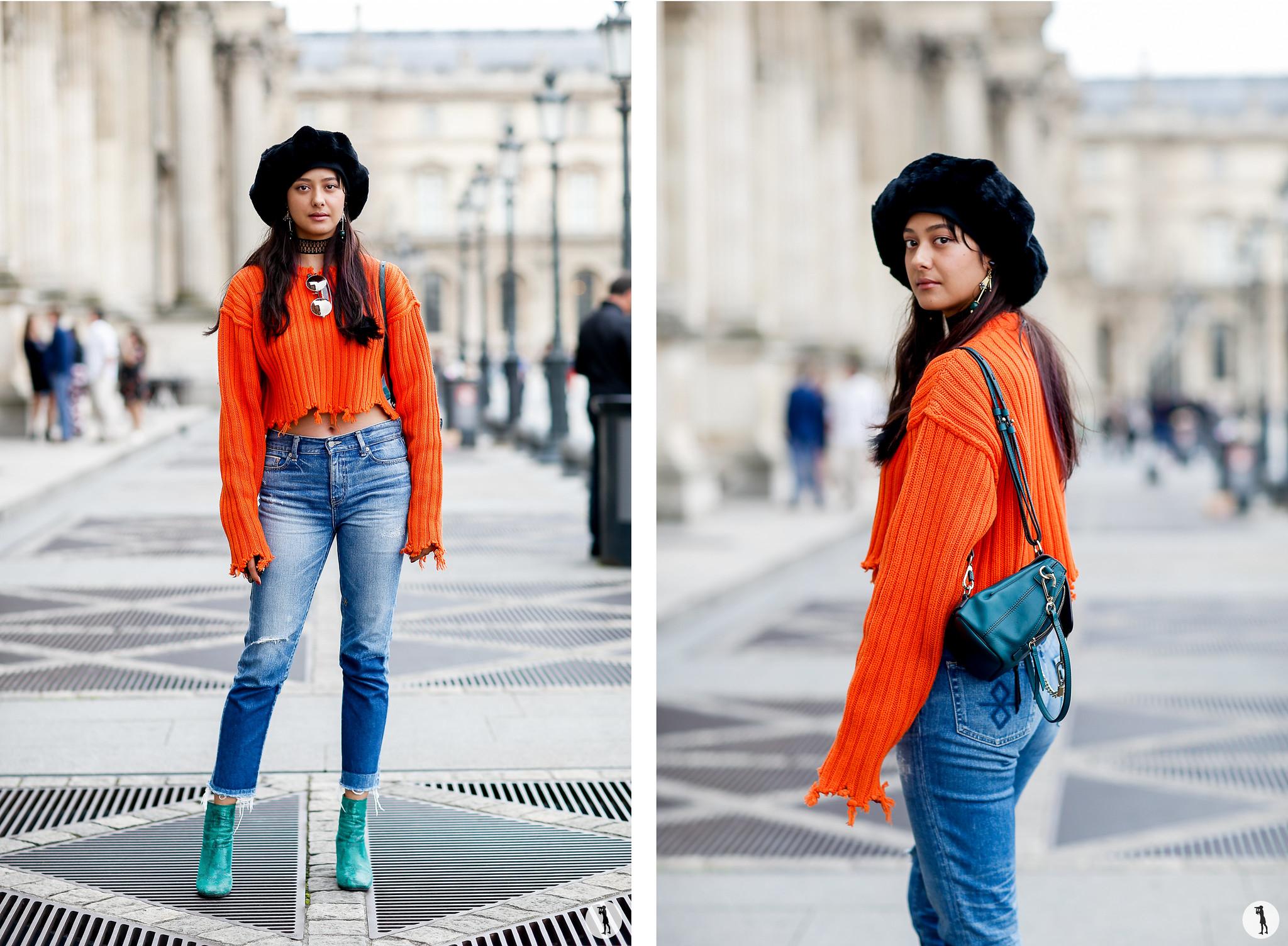 Alisa Urahama - Paris Fashion Week SS18