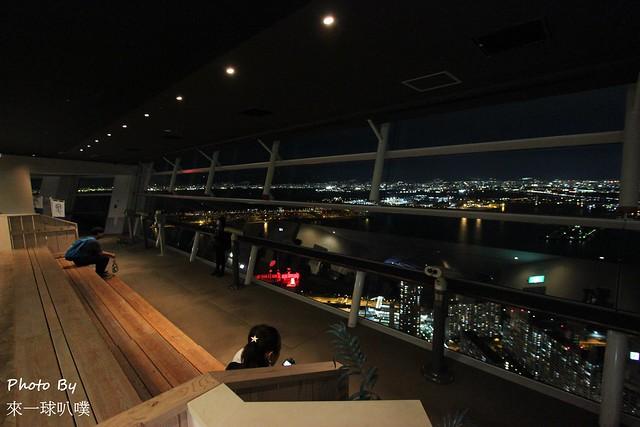 大阪府咲洲行政大樓展望台48