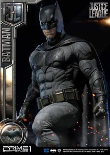 「有需要的時候我就是真的」Prime 1 Studio《正義聯盟》蝙蝠俠 Batman ジャスティス・リーグ バットマン MMJL-01EX 1/3 比例全身雕像