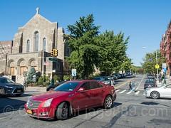 Isham Street and Broadway Intersection, Inwood, New York City