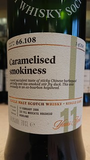 SMWS 66.108 - Caramelised smokiness