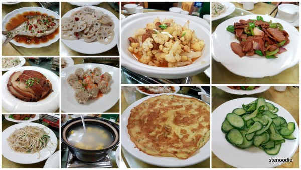 Chinese group dishes