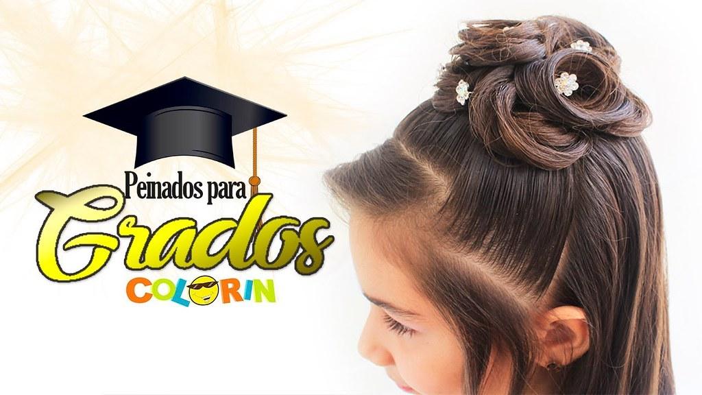 5 Peinados Para Graduacion Sencillos Mira Estos 5 Peinad Flickr