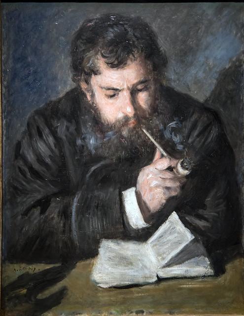 Monet, by P. A. Renoir, 1872