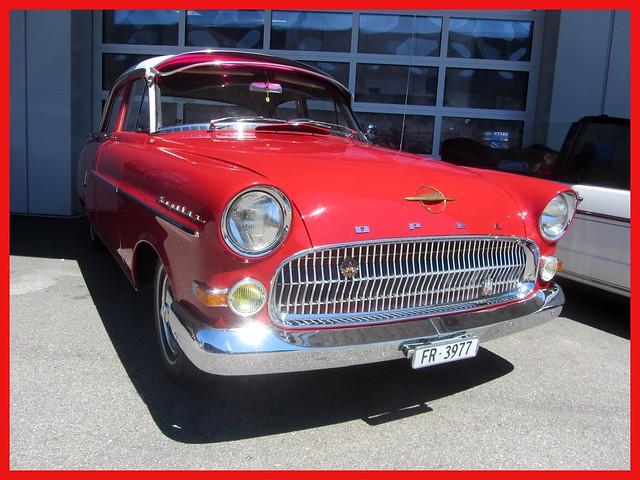 Opel Kapitän, 1955–58