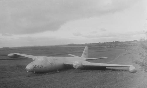 Crashed plane 1962