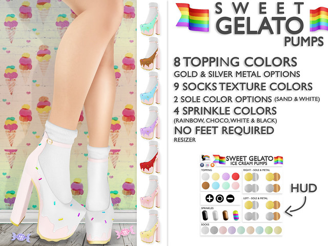 Blah. @ Candy Fair / Exclusive / Sweet Gelato Pumps ♥