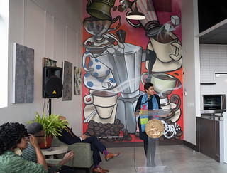 November 13, 2017 Grand Opening of Culture Coffee Too