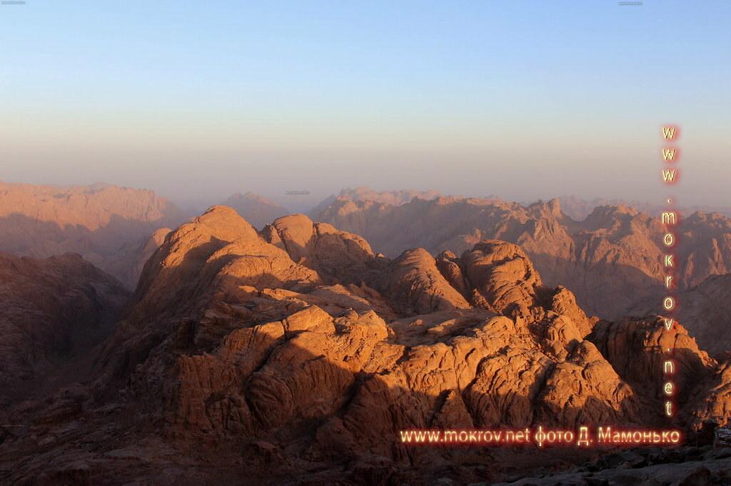 Синайские горы — Египт фотографии сделанные днем и вечером