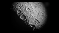 Tycho & Clavius Craters, June 3, 2017 with iPhone 6