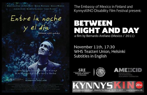 Participación de México en festival de cine sobre discapacidad KynnysKino