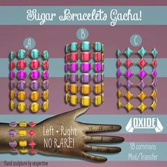OXIE Sugar Bracelets Gacha - Candy Fair 2017