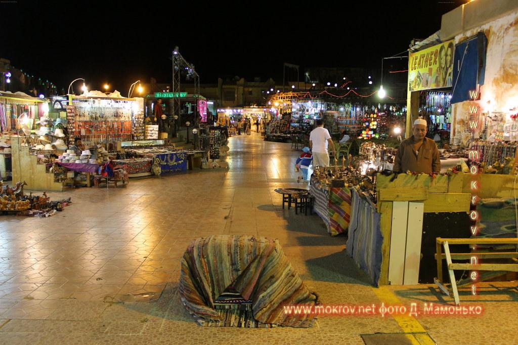 Шарм-эш-Шейх — город-курорт в Египте с фотокамерой прогулки туристов