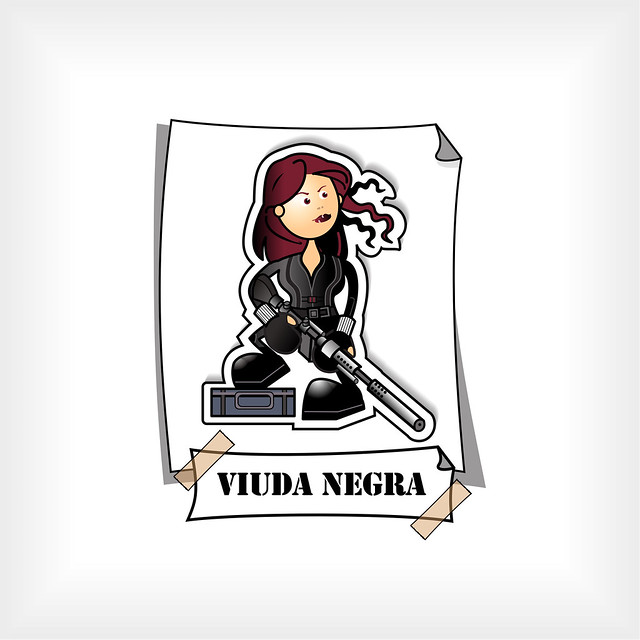 🔷 Viuda Negra 🔹 Natasha Romanova