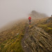 Craig leads the way into the low cloud by milo42