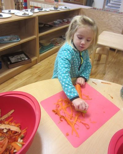 carrot peeling