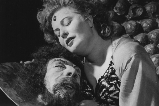 Ljuba Welitsch as Salome in the Covent Garden Opera Company production of Salome (1949) © Royal Opera House/Roger Wood