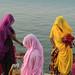 Pilgrims. Pushkar. Rajasthan. India