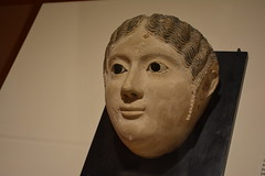 St Petersburg, FL - Museum of Fine Arts - Mummy Mask - Egyptian, Roman Imperial Period, 2nd c