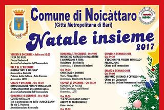 Noicattaro. Eventi di Natale 2017 front