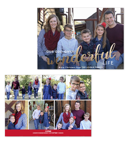 2017 Minted Christmas card