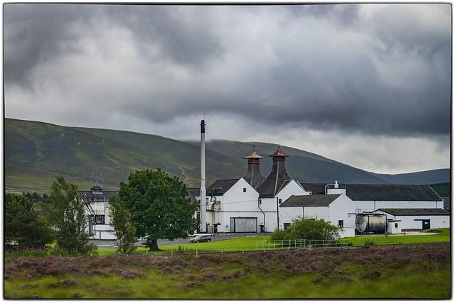 Dalwhinnie distilleri, Scotland