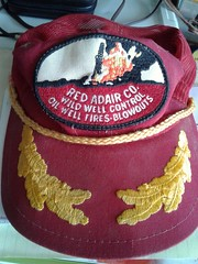 One of my favorite hats found when I cleaned the garage on Thanksgiving 2017.