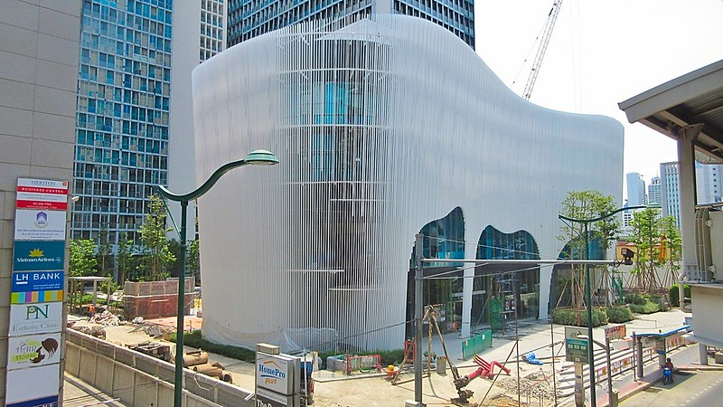Sukhumvit Rd Ploenchit building boom