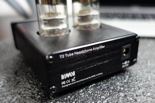 SMSL T2 真空管ヘッドフォンアンプ ミニアンプ JRC5532D HIFI オーディオ プリ  チューブ6J9