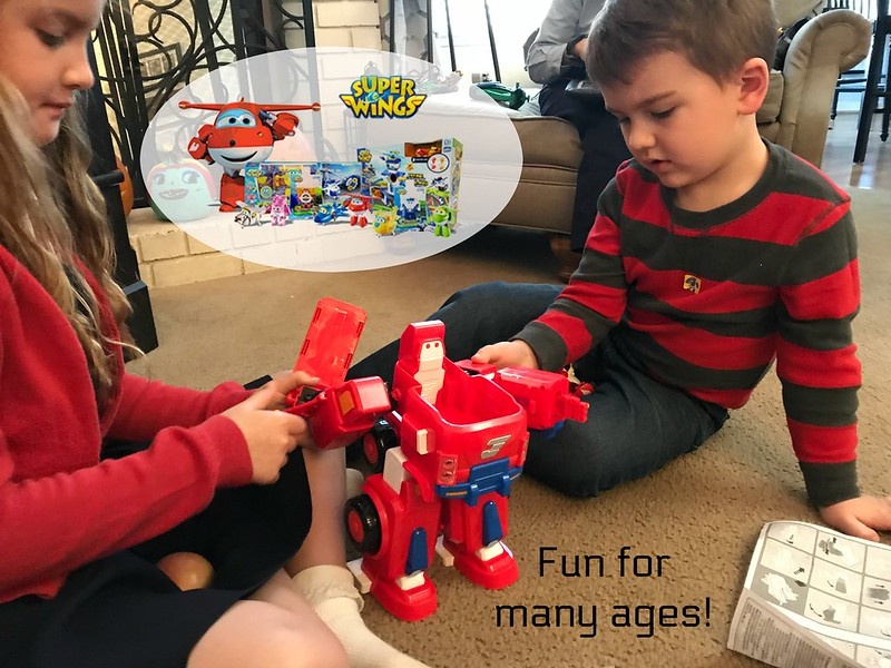 Super Wings Toys are for a broad range of ages!
