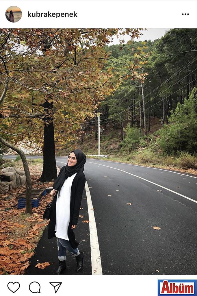 Avukat Kübra Kepenek, sonbaharın tüm güzelliğini yansıtan bu fotoğraf ile beğeni topladı.