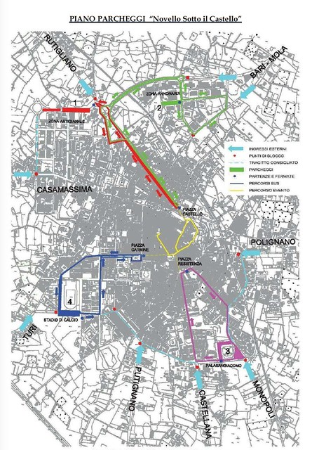 MappaParcheggi