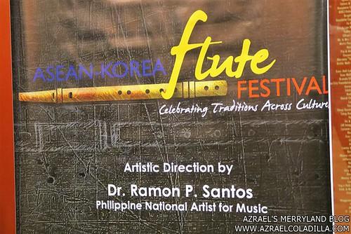 1 ASEAN KOR Flute Festival - Poster