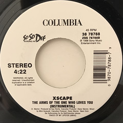 XSCAPE:THE ARMS OF THE ONE WHO LOVES YOU(LABEL SIDE-B)