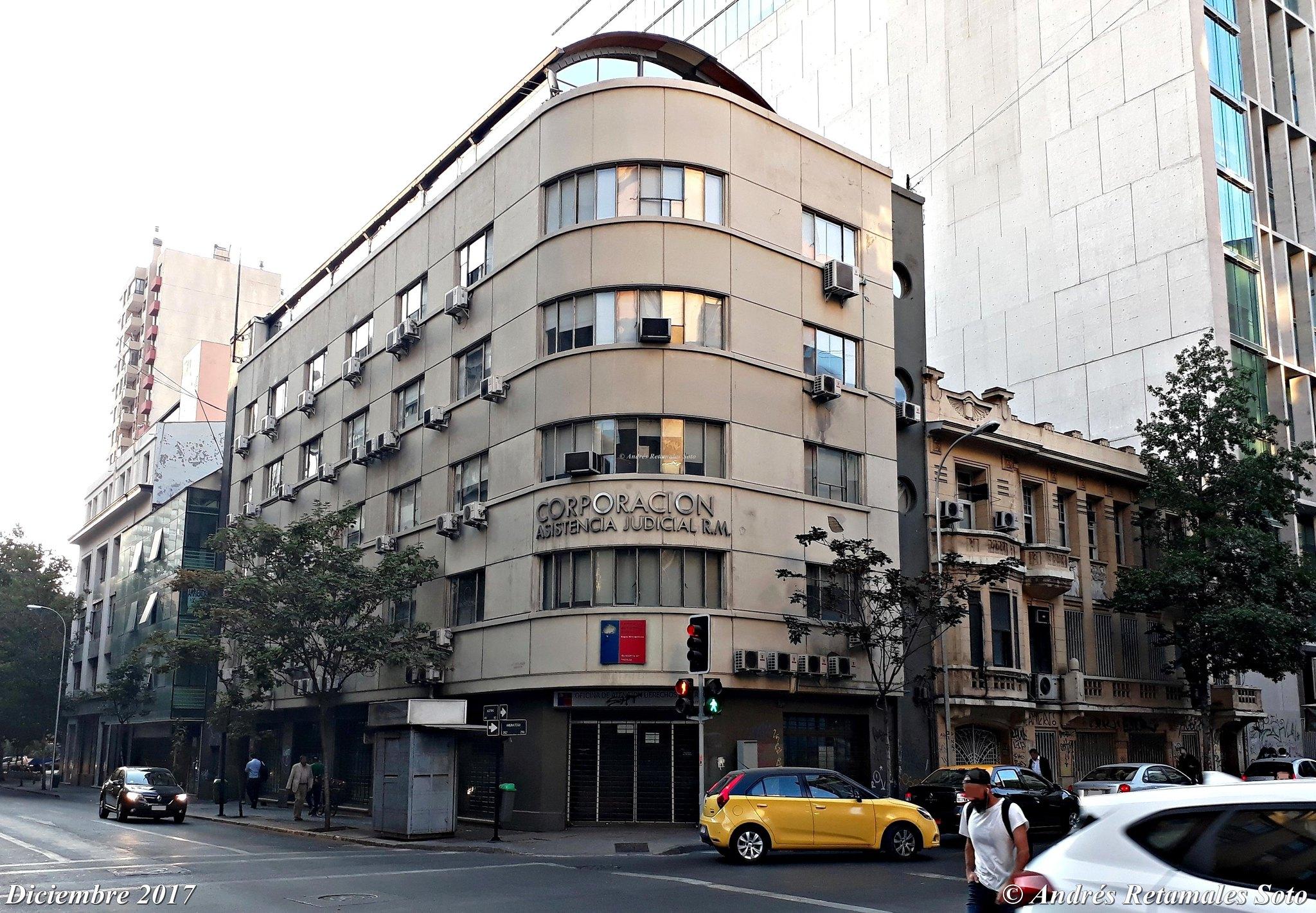 Corporación de Asistencia Judicial R.M., Santiago de Chile, diciembre 2017