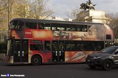 Wrightbus NRM NBFL - LTZ 1161 - LT161 - Coca-Cola - Hammersmith 9 - RATP Group - London 2016 - Steven Gray - IMG_8589