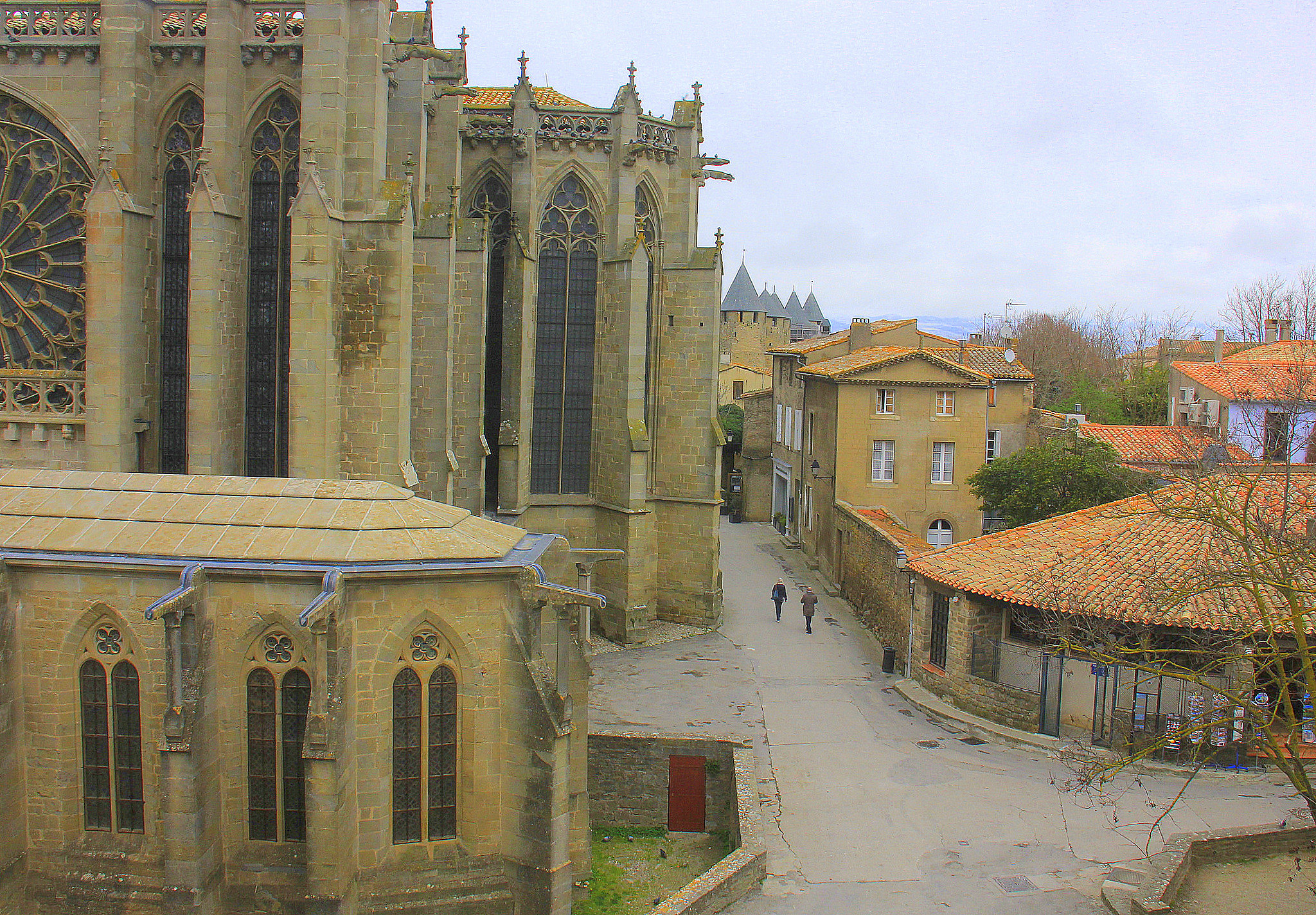 Carcassonne is a beautiful heritage site