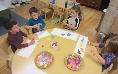 Paul Klee shape art