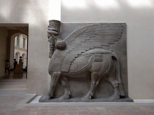 Lamassus (713 BC), Mesopotamia