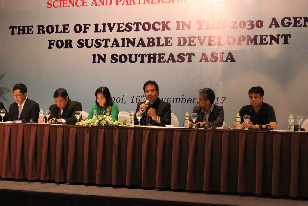 Science and partnership workshop 2017: The role of livestock in the 2030 Agenda for sustainable development in Southeast Asia