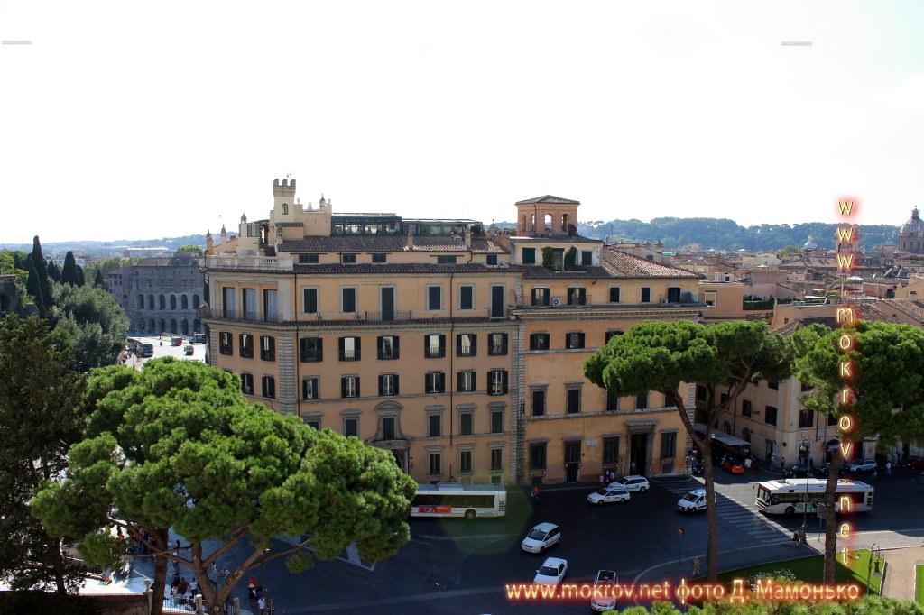 Рим — Италия сделанные как днем, так и вечером