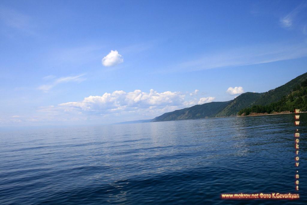 Озеро Байкал фотографии сделанные днем и вечером