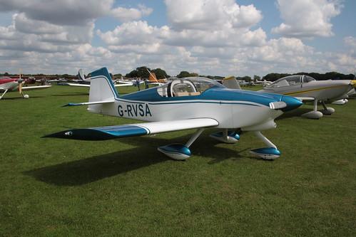 G-RVSA Van's RV-6A [PFA 181A-12574] Sywell 010917